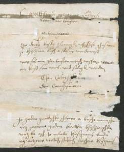 Chart. A 125, Bl. 411r. © Universität Erfurt, Forschungsbibliothek Gotha