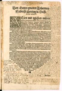 Mit handschriftlichen Einträgen Paul Ebers bedeckte Seite seiner persönlichen Bibel